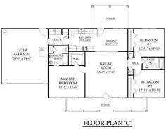 one floor open house plans simple open ranch floor plans style villa maria house