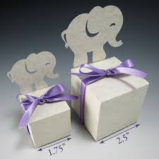 paper zen animal gift boxes party favors