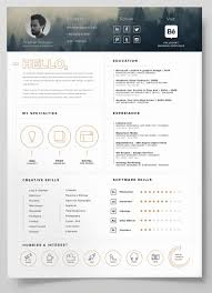 free resume creative templates downloads 40 free creative resume templates for job seekers digital downloads