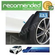 Toyota Calya Karpet Lumpur Mud Guard Aksesoris Jsl jual toyota calya aksesoris murah dan terlengkap