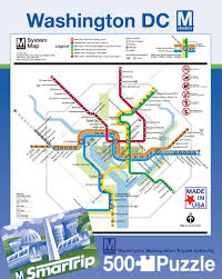 Metro Ny Map by Dc Metro U2013 New York Puzzle Company