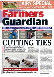 Une Cuisine Bleu Pastel Pom Gus Farmers Guardian 1st December 2017 Scottish By Briefing Media Ltd