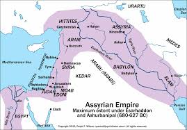 Blank Map Of Egypt And Surrounding Countries by Maps Covering The Periods Of Isaiah U0027s Prophecies