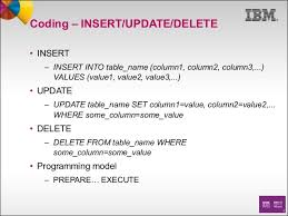 Delete Data From Table Standard Access To Ims Data From Cobol Using Sql