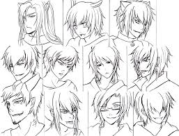 Cute Anime Hairstyles Anime Hairstyles For Guys 486963 Jpg 800 613 Drawing
