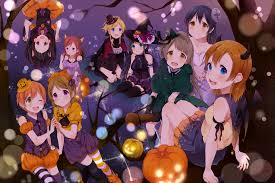 live halloween wallpaper love live wallpapers the wallpaper