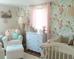 Pink Nursery Curtains Rory Lous Shabby Chic Mint Pink And Gold Nursery Best Curtains