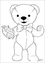 teddy teddy bear coloring free printable coloring pages
