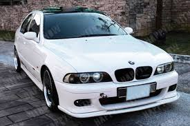 98 03 painted bmw e39 m5 h type front lip splitter all color