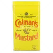 coleman s mustard alosraonline colman s mustard 113g