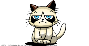 Image 9 Best Grumpy Cat - grumpy cat coloring pages free free coloring books