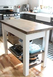 wood kitchen island cart 8 diy kitchen islands for every budget and ability blissfully
