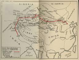 Turkestan Map Trv022 Journey To Turkistan The Gunnar Jarring Central Eurasia
