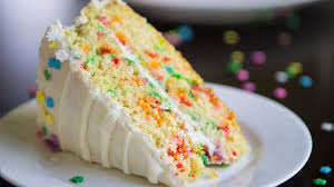 vanilla funfetti cake birthday cake with sprinkles recipe