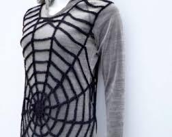Spider Halloween Costume Pdf Crochet Pattern Size Halloween Spiderweb Handy