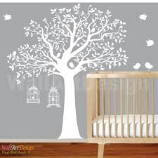 bird cage wall decal etsy nursery wall decal children baby girl art walldecals