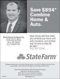state farm bank dustin hinson