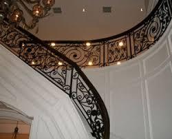 Decorative Iron Railing Panels Custom Wrought Iron Interior Railings Hungrylikekevin Com