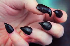 black claws diy claw nails