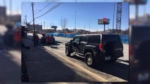 tiffany blue hummer 11alive com suspect in hit and runs shot by porsche passenger