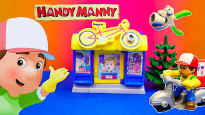 handy manny disney handy manny bicycle shop dora toys video