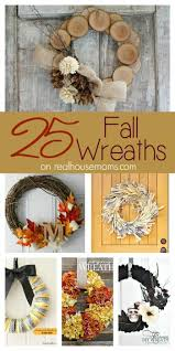 25 wreaths for fall real housemoms