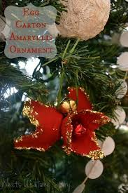 egg amaryllis ornament egg cartons ornaments and