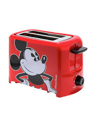 delonghi kmix 2 slice toaster kitchen disney finds mickey mouse toaster in stainless steel for