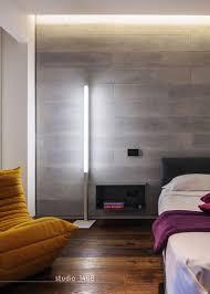 Interior Concrete Walls by V Apartment By Studio 1408