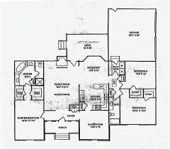 Ranch Home Designs Floor Plans Pretty 3 Bedroom Ranch Floor Plans 76 Together With Home Design