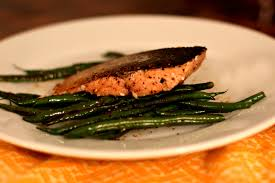 cuisine haricot vert pan roasted salmon with sauteed haricot vert high heels to wheels