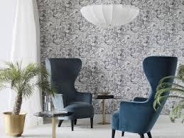 salon sans canapé un salon sans canapé pour optimiser l espace fresque murale
