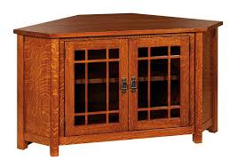mission style corner tv cabinet mccoy mission corner tv cabinet