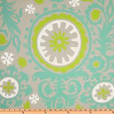 Suzani Fabric Chair Premier Prints Suzani Twill Harmony Green Discount Designer