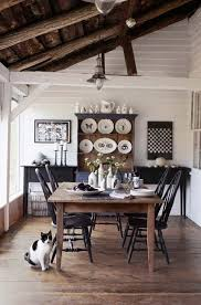 white farmhouse table black chairs fascinating farmhouse dining rooms gallery best inspiration home