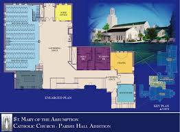 Catholic Church Floor Plans by Decatur Parish Digs Deep For New Parish Hall Today U0027s Catholic News