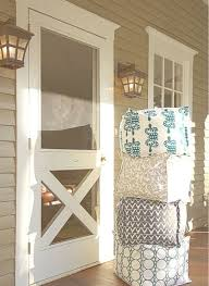 Best 25 Screened Porch Decorating by Best 25 Screen Doors Ideas On Pinterest Wood Screen Door