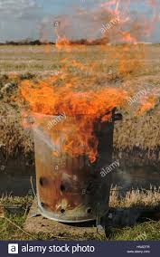burning garden waste ready for spring stock photo royalty free