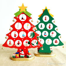 best tree decorations wooden tabletop tree decorations