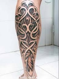 tattoo tribal na perna masculina tatuagens masculinas tatuagens masculinas tribal