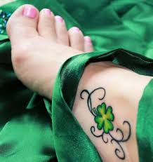 17 leaf and clover tattoo designs for women styles weekly