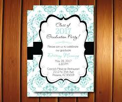 graduation party invitations printable damask grad