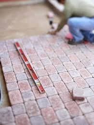 How To Install A Concrete Patio Best 25 Concrete Pavers Ideas On Pinterest Outdoor Pavers