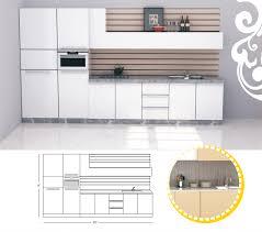 single line kitchen design kitchen design ideas