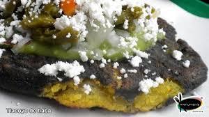 cuisine haba tlacoyos de haba sabor de mexico mexicans