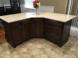 Cognac Kitchen Cabinets by Kitchens Yoder Woodworking