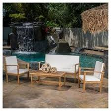 Target Wicker Patio Furniture by Fullerton 4 Piece Wicker Patio Furniture Set Threshold Target