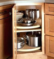kitchen corner cabinet storage ideas cabinet turntable storage cabinet turntable storage cleaning our