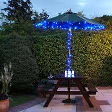 patio u0026 pergola 24 led light outdoor market patio umbrella