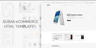 subas u2013 electronics ecommerce bootstrap template themelock com
